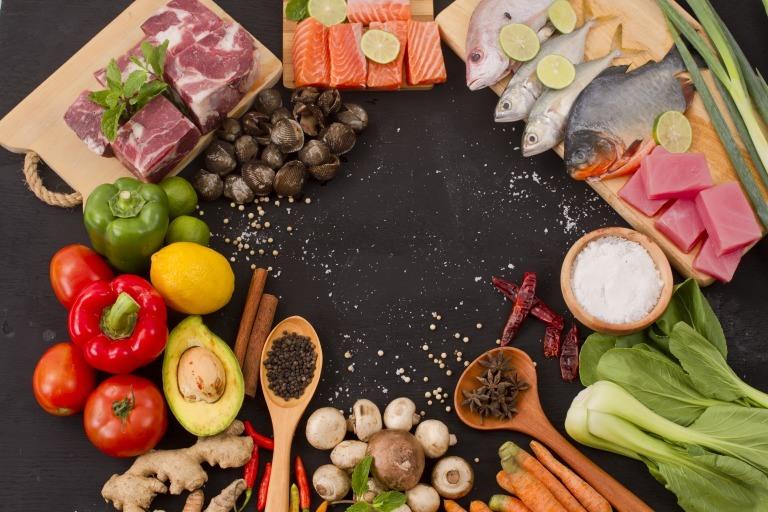 タンパク質の多い食材